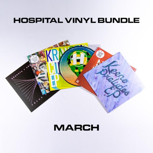 Hospital Records March Vinyl Bundle