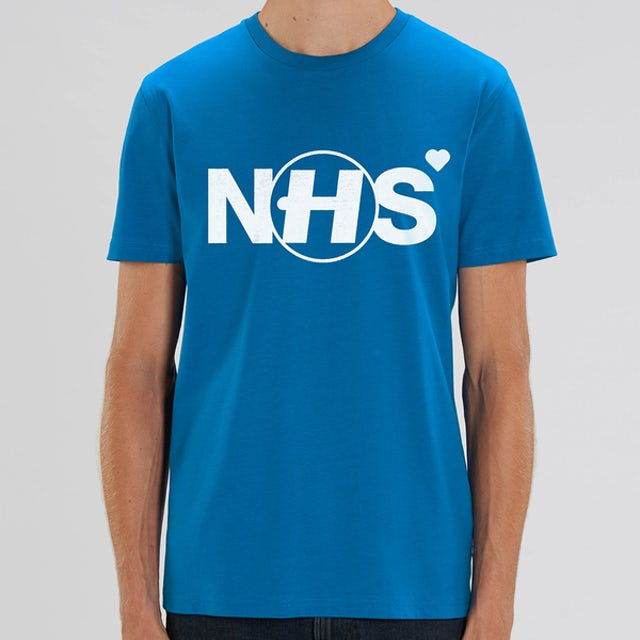 Hospital Records NHS Donation Tee - Blue