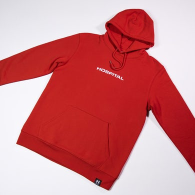 Hospital Records Essential Hood 2.0 - Red