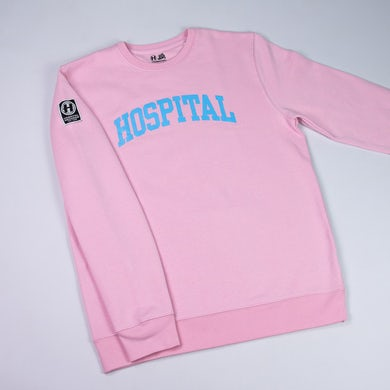 Hospital Records Varsity Crew - Cotton Candy