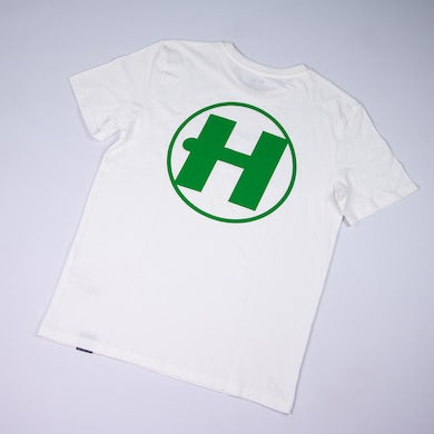 Hospital Records Spring Tonal Essential Tee - Off White & Green