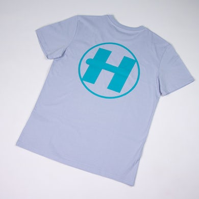 Hospital Records Spring Tonal Essential Tee - Blue & Turquoise