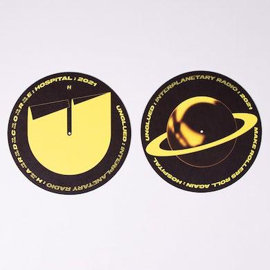 Hospital Records Unglued Interplanetary Radio Slipmats
