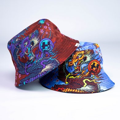 Hospital Records Dragon Bucket Hat