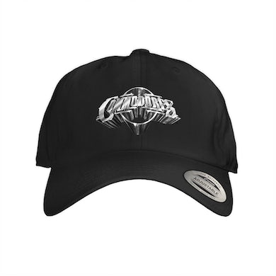 The Commodores Embroidered Logo Dad Hat (Silver / Black)