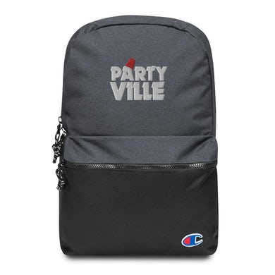 CasinoATX Partyville Embroidered Champion Backpack