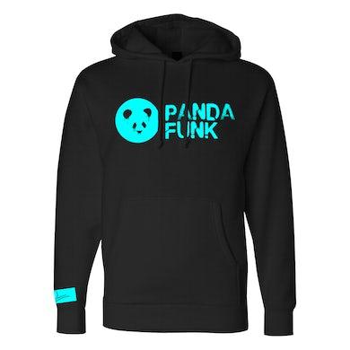 Deorro Black Signature Panda Funk Pullover Hoodie (Blue Print) Pre-Order