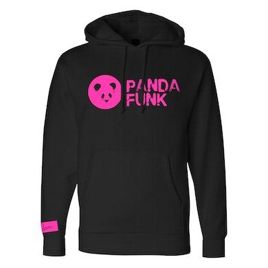Deorro Black Signature Panda Funk Pullover Hoodie (Pink Print) Pre-Order