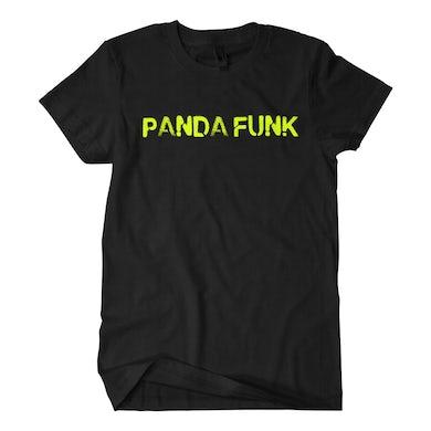 Deorro Panda Funk Black Tee (Green Print) Pre-Order