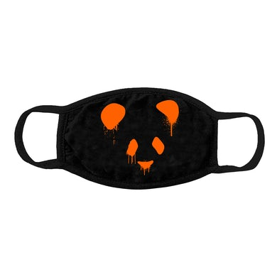 Deorro OG Panda Mask (Orange Print) Pre-Order