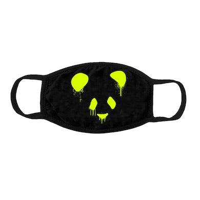 Deorro OG Panda Mask (Green Print) Pre-Order