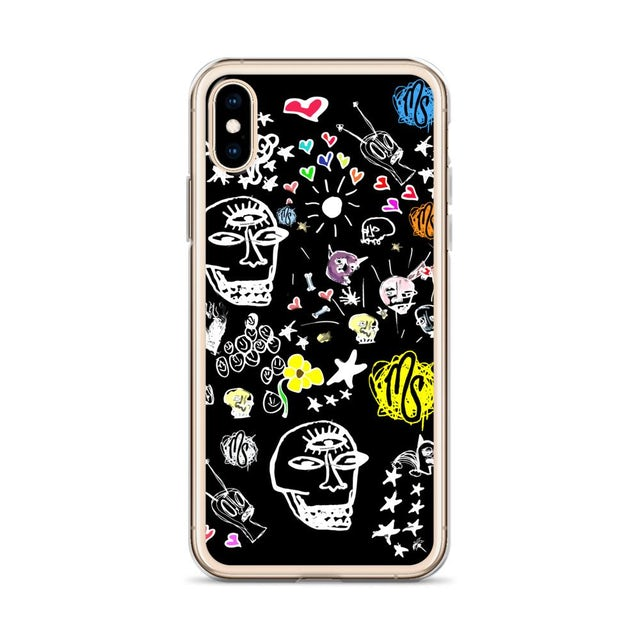 MOD SUN Art All Over Black iPhone Case
