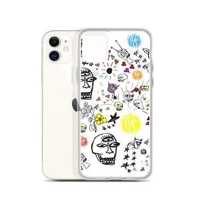 MOD SUN Art All Over White iPhone Case