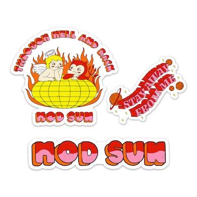 MOD SUN Hell & Back Sticker Pack