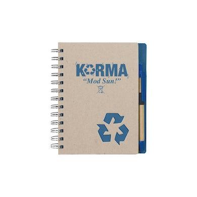 MOD SUN Karma Recycled Notebook & Pen