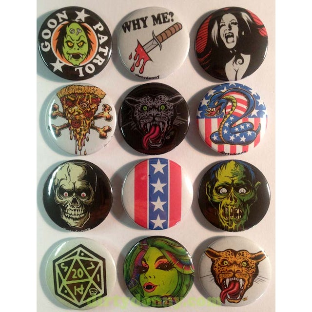 Dirty Donny Daredevil 1.5in Button
