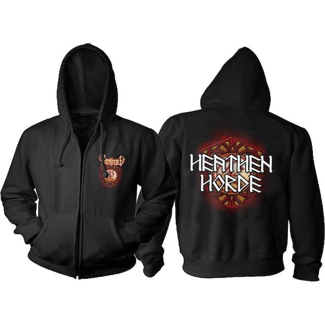 Ensiferum Heathen Horde Zip Hoodie