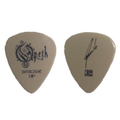 Opeth Heritage VIP Tan Guitar Pick
