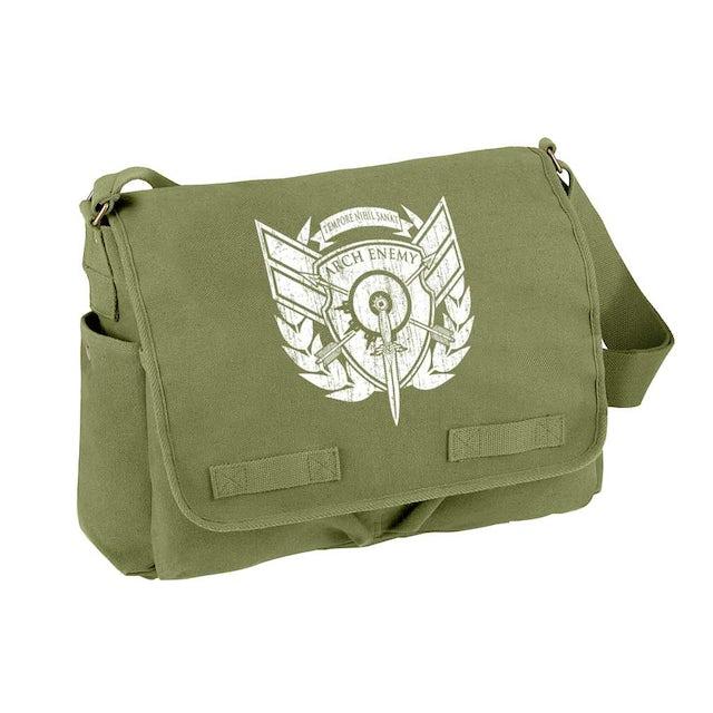 Arch Enemy Tempore Nihil Sanat Olive Messenger Bag