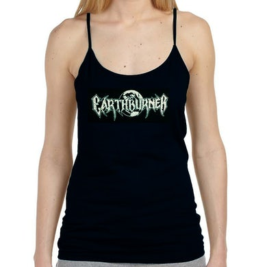 Earthburner Logo Ladies Spaghetti Strap Tank
