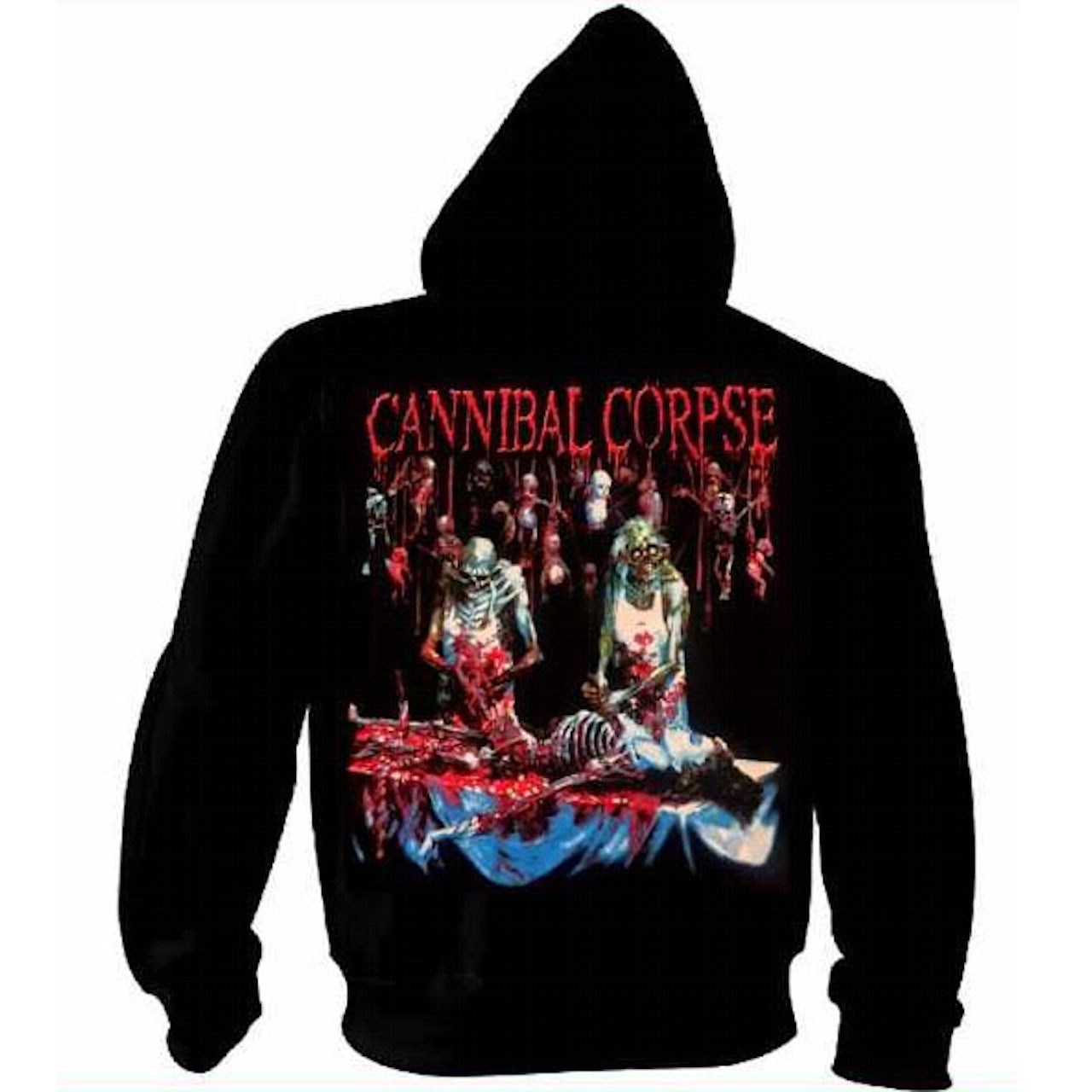 5a4a46c375c Cannibal Corpse Butchered At Birth Zip Hoodie. Touch to zoom