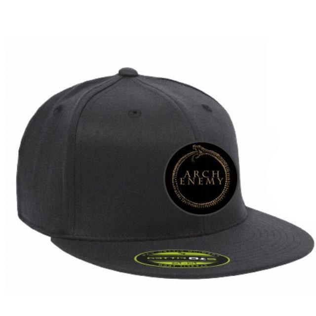 Arch Enemy Gold Snake Logo Snap Back Hat
