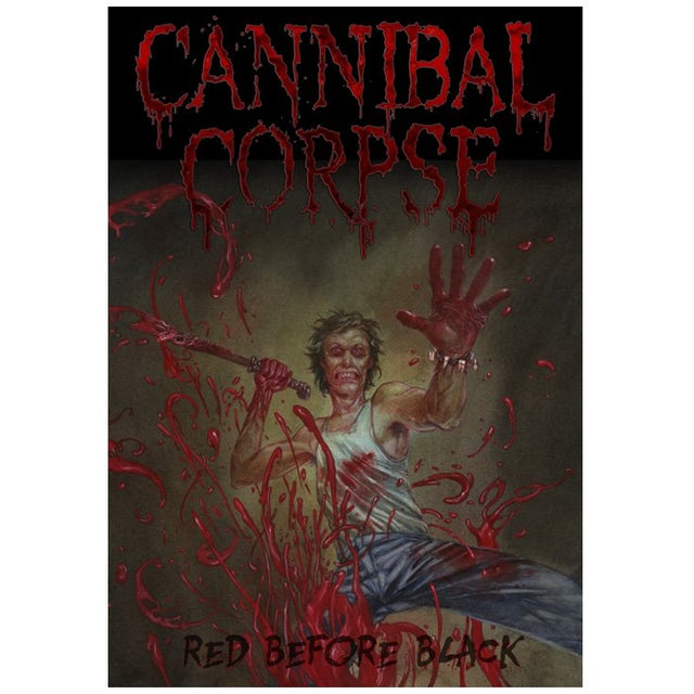 Cannibal Corpse Red Before Black Poster Flag