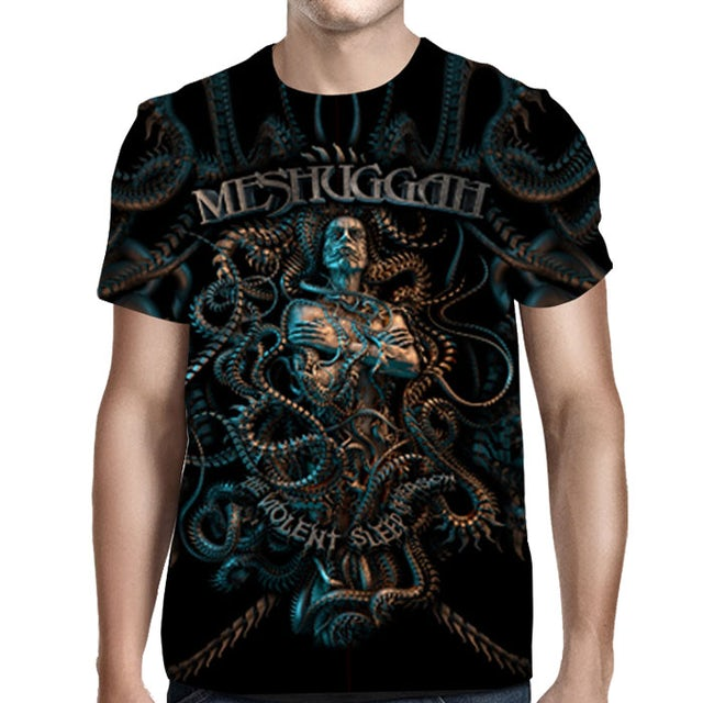 MESHUGGAH The Violent Sleep of reason All Over T-Shirt