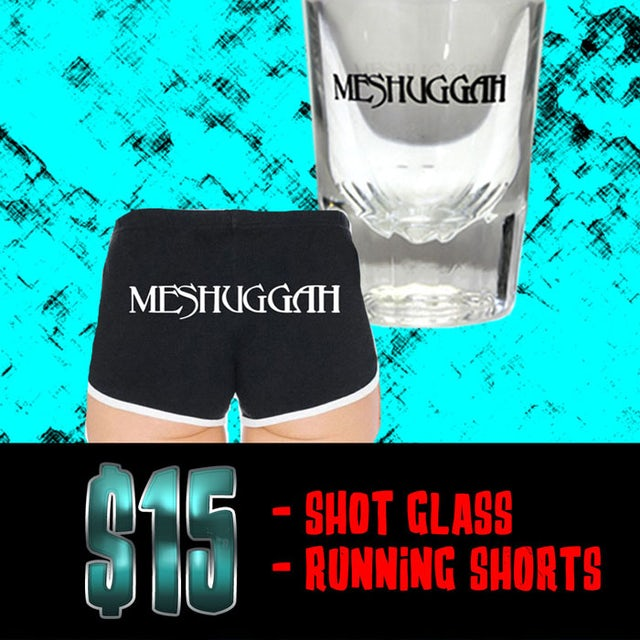 MESHUGGAH Ladies Running Shorts Bundle