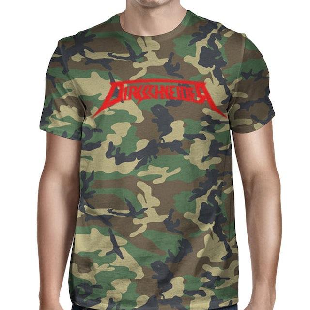 DIRKSCHNEIDER I'm a Rebel with Logo Camo T-Shirt