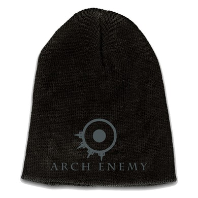 "Arch Enemy Embroidered Logo And Ring 9"" Beanie"