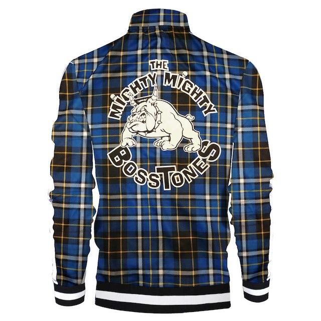 Mighty Mighty Bosstones Bulldog Royal Plaid Zip Jacket