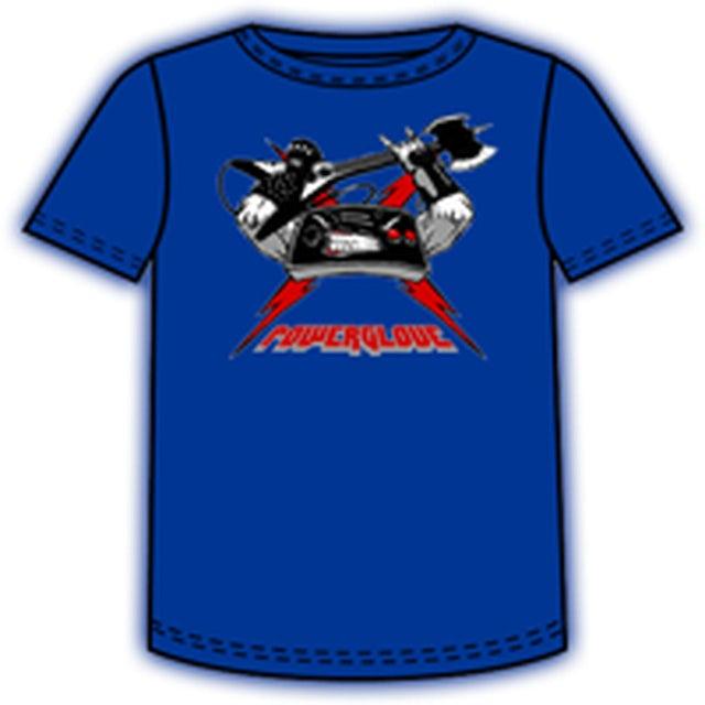 Powerglove Controller Royal Blue T-Shirt