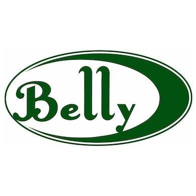 BELLY Green Logo Sticker