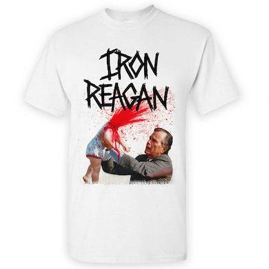 IRON REAGAN Asshole Bush White T-Shirt
