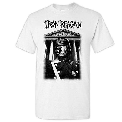 IRON REAGAN Rewind Black Ink T-Shirt