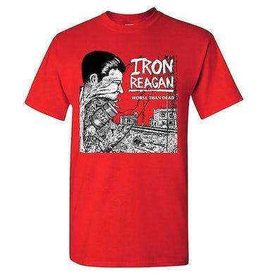 IRON REAGAN Worse Than Dead T-Shirt