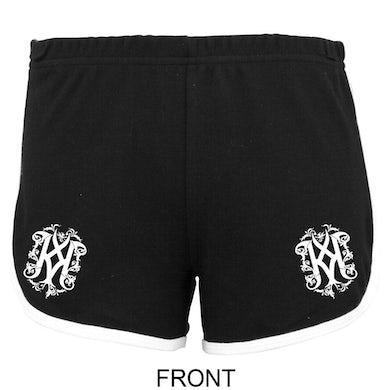 KALMAH Black & White Ladies Shorts