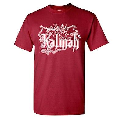 KALMAH Seventh Swamphony Garnet T-Shirt