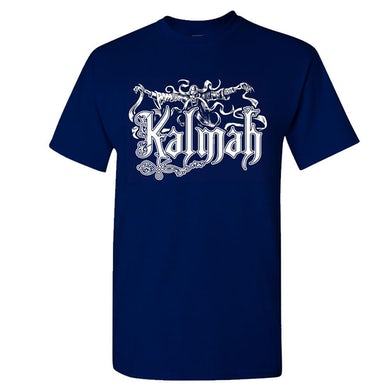 KALMAH Seventh Swamphony Navy T-Shirt