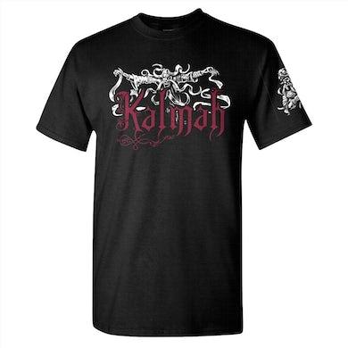 KALMAH Seventh Swamphony Trident T-Shirt