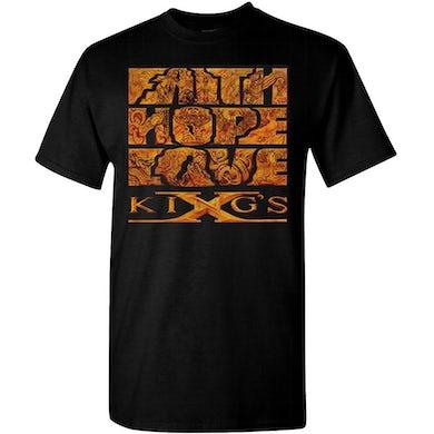 KING'S X Faith Hope Love T-Shirt