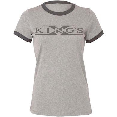 KING'S X Logo Est 1980 Ladies T-Shirt