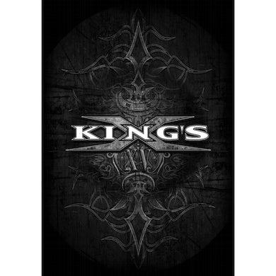 KING'S X Tribal Logo Textile Flag
