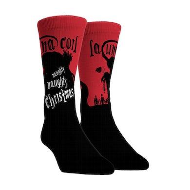 LACUNA COIL Naughty Christmas Socks