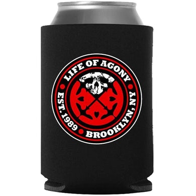 LIFE OF AGONY Logo Koozie