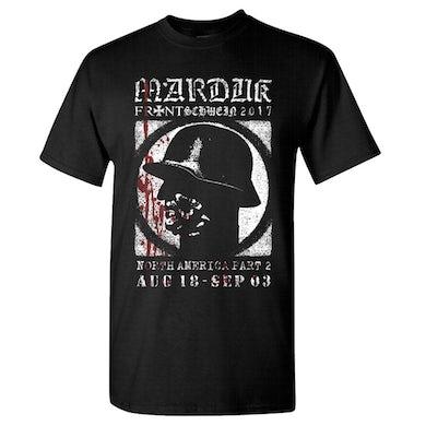 MARDUK Soldier 2017 Tour Dates T-Shirt