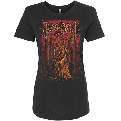 Reaper In Tremor Dei Black Ladies T-Shirt