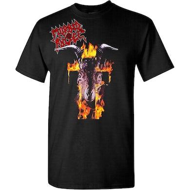 MORBID ANGEL Flaming Goat Head T-Shirt