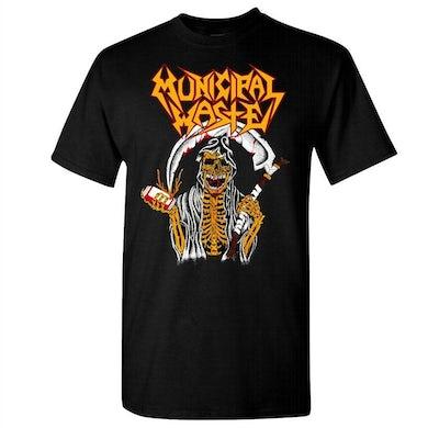 MUNICIPAL WASTE Reaper Beer Nuke Black T-Shirt